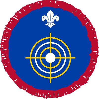 Scout Section Master at Arms Badge