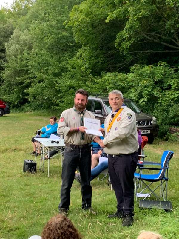 Wood Badge to Paul Haddaway