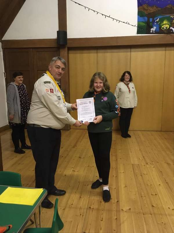 Amber Chief Scout Silver Award