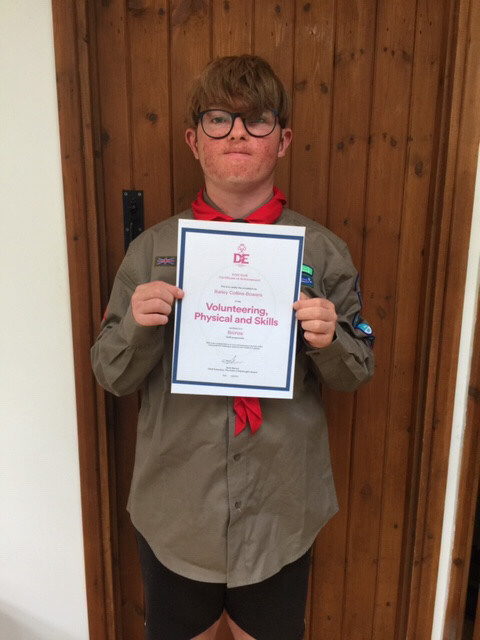 DofE Bronze - Bailey from Thomas Becket Explorers