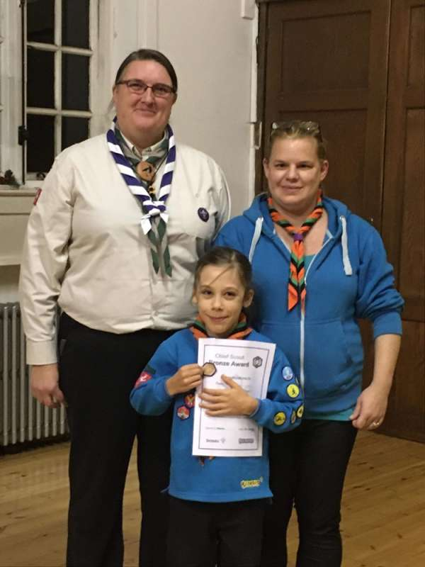 Mason Chief Scout Bronze Award