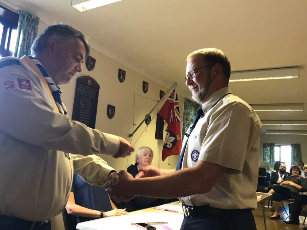 Andrew Forrester - Chief Scout's Commendation Award