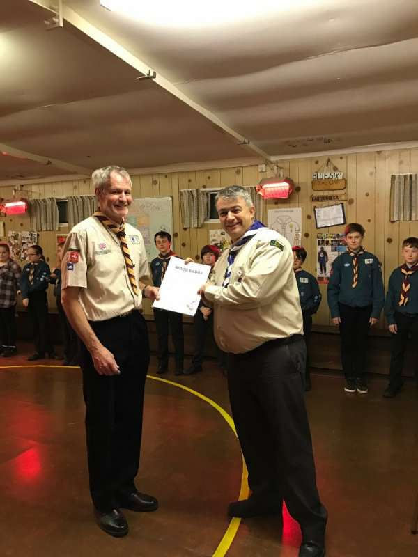 Pete Marsh - Wood Badge