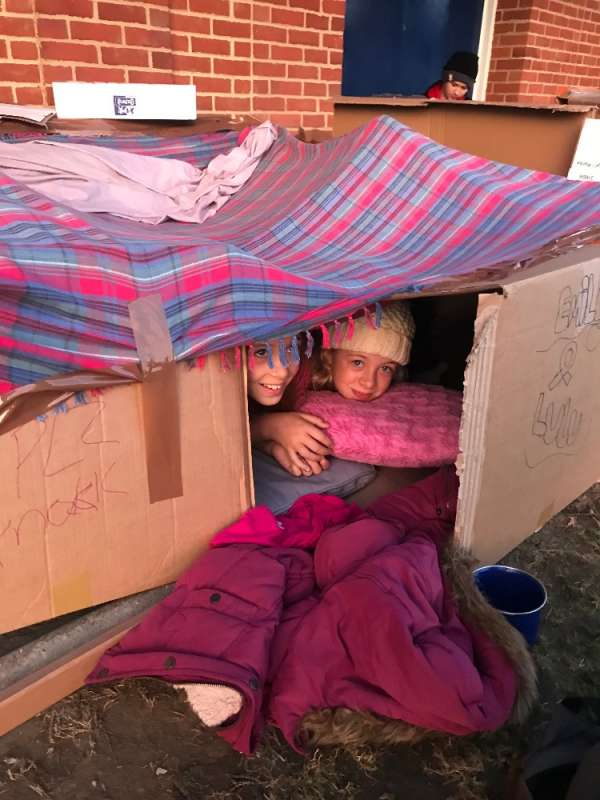 Deal District Sleepout for Porchlight Oct 2018