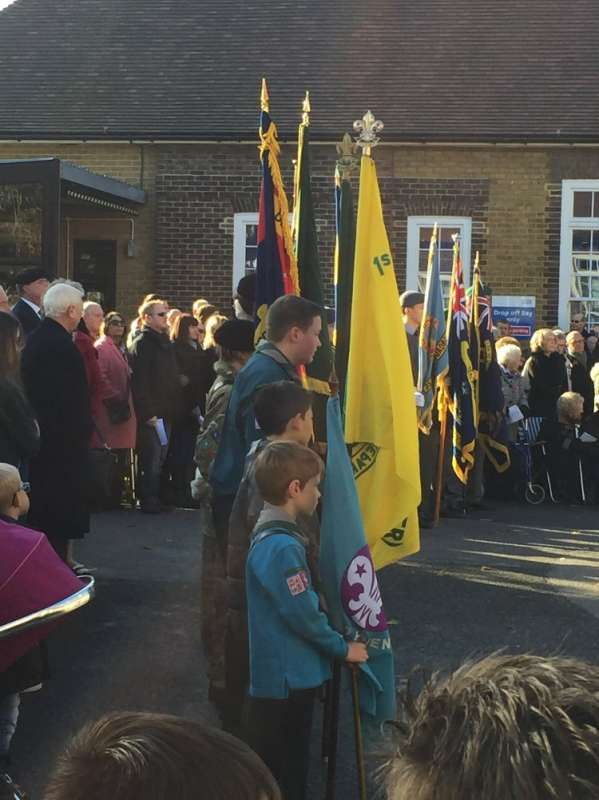 Remembrance Day Parade Nov 2016