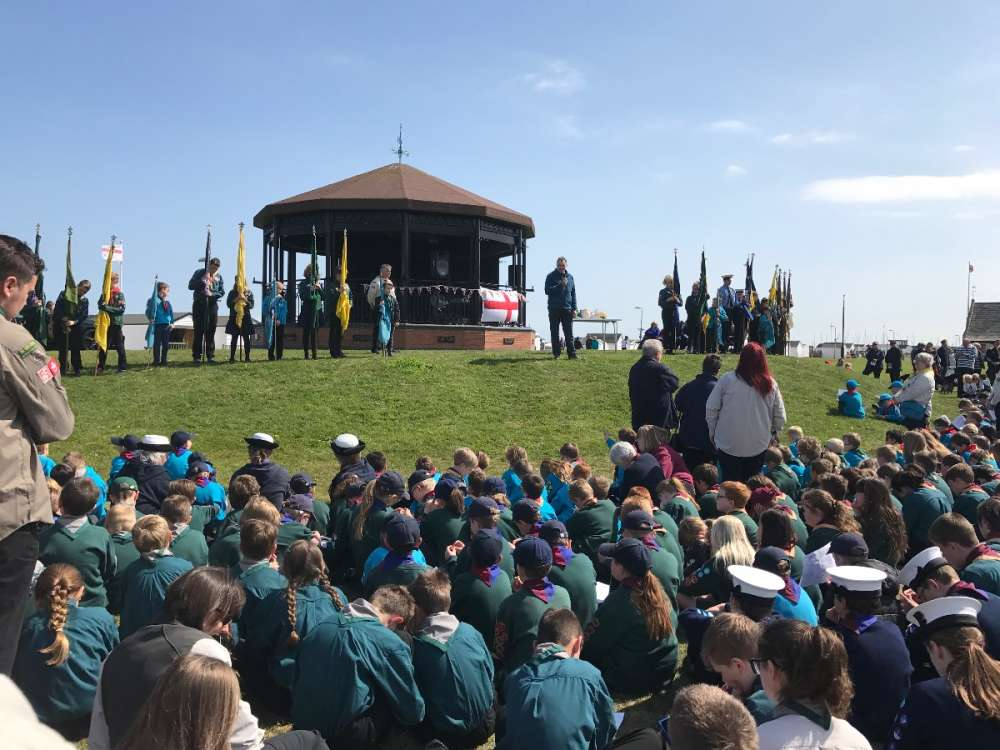 St. George's Day - Walmer Bandstand